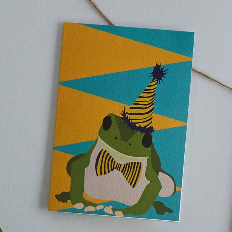 Lorna Syson Cards for occasions Greeting Cards Animal cards Frogs