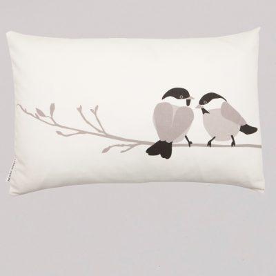 Willow Tit Cushion