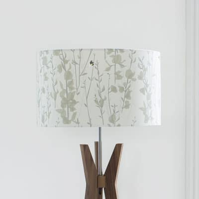 broom and bee dusk lampshade