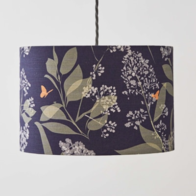 buds & butterflies lampshade by british designer lorna syson
