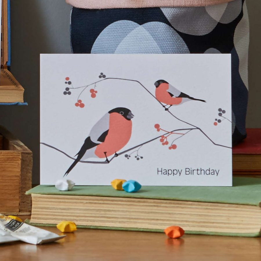 Lorna Syson Birthday Card