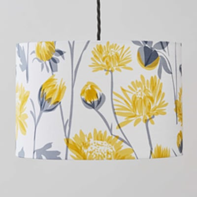 chrysanthemum lampshade by british designer lorna syson