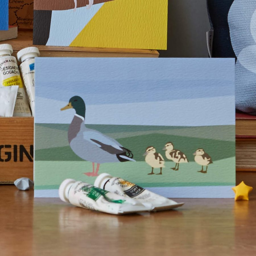 duck family by lorna syson