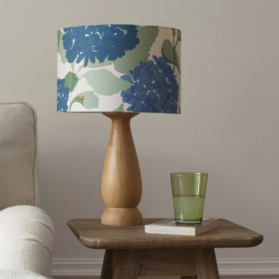 hand turned lamp base - gifts over £50