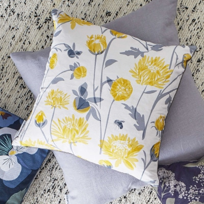 chrysanthemum cushion lorna syson
