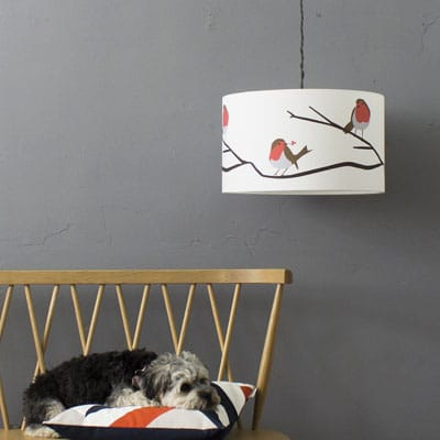 robin lampshade by lorna syson