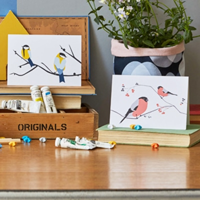 songbird cards designed by lorna syson