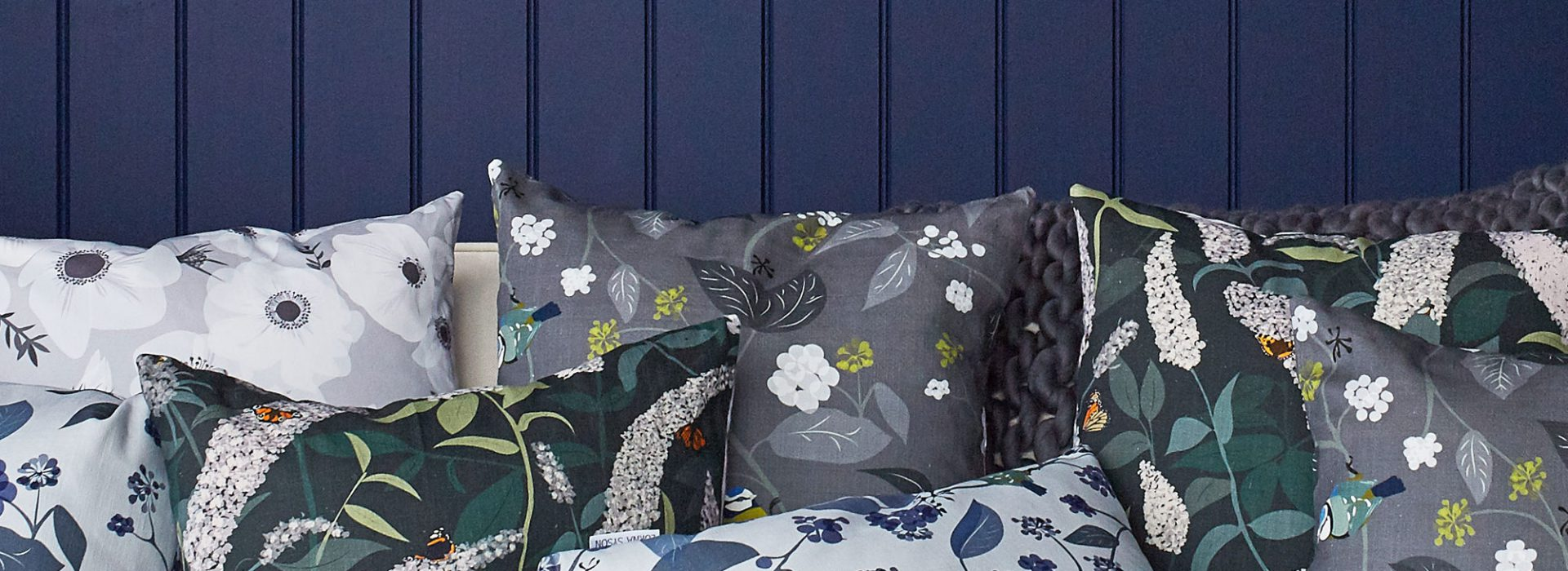 Lorna Syson launching new midnight garden collection at top drawer a/w 2017