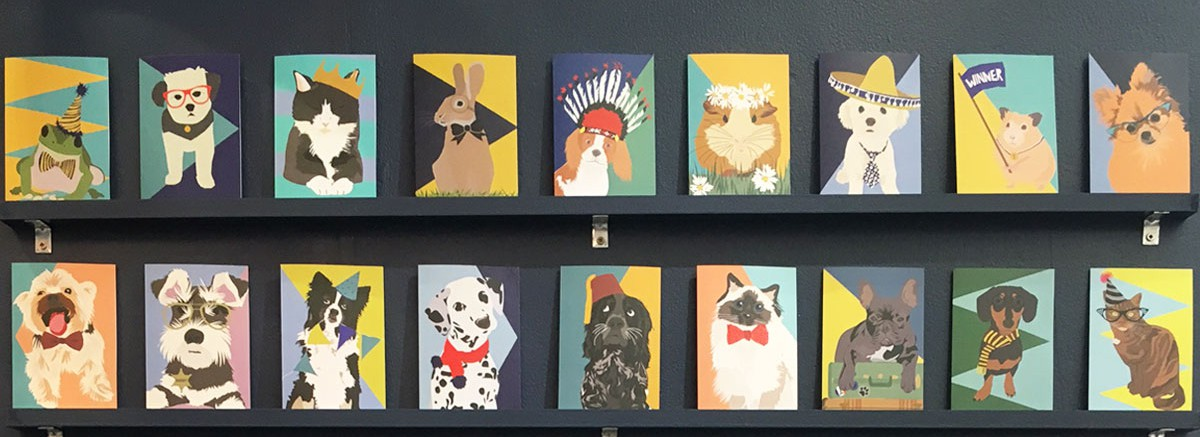Lorna Syson New Pet Collection Cards