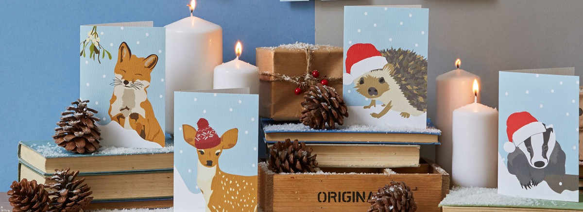 Lorna Syson Christmas cards