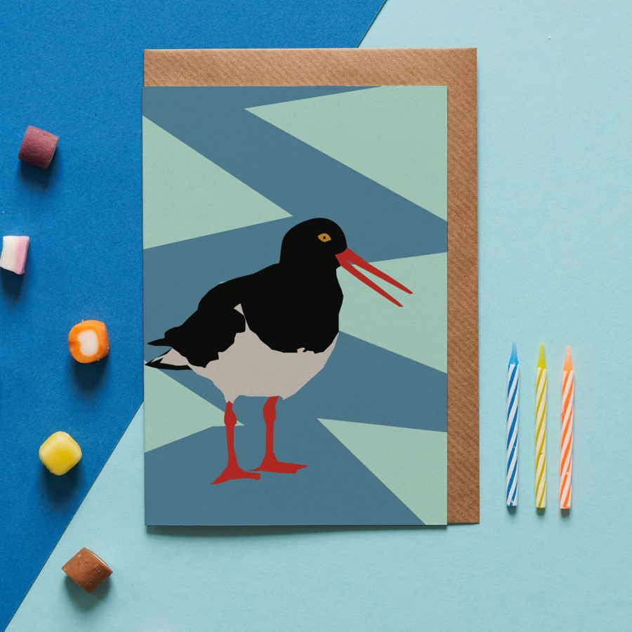 rupert the oystercatcher designed by Lorna Syson