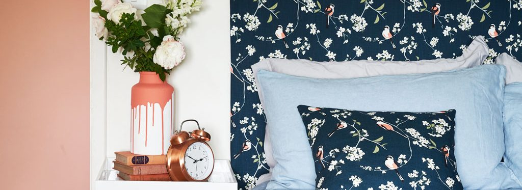 Interior Design Supplier UK British Birds and Flowers Wallpaper Fabrics
