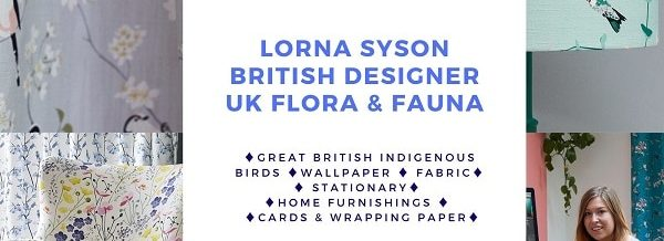 Feature Wall Wallpaper Designs Luxuru Designer Bird Pattern Floral Designs UK Indigenous British Birds