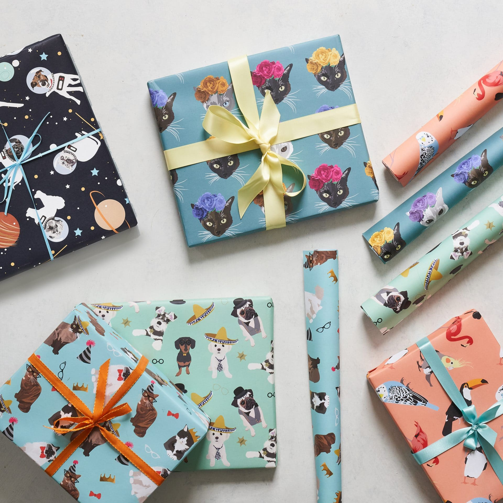 Lorna Syson wrapping paper