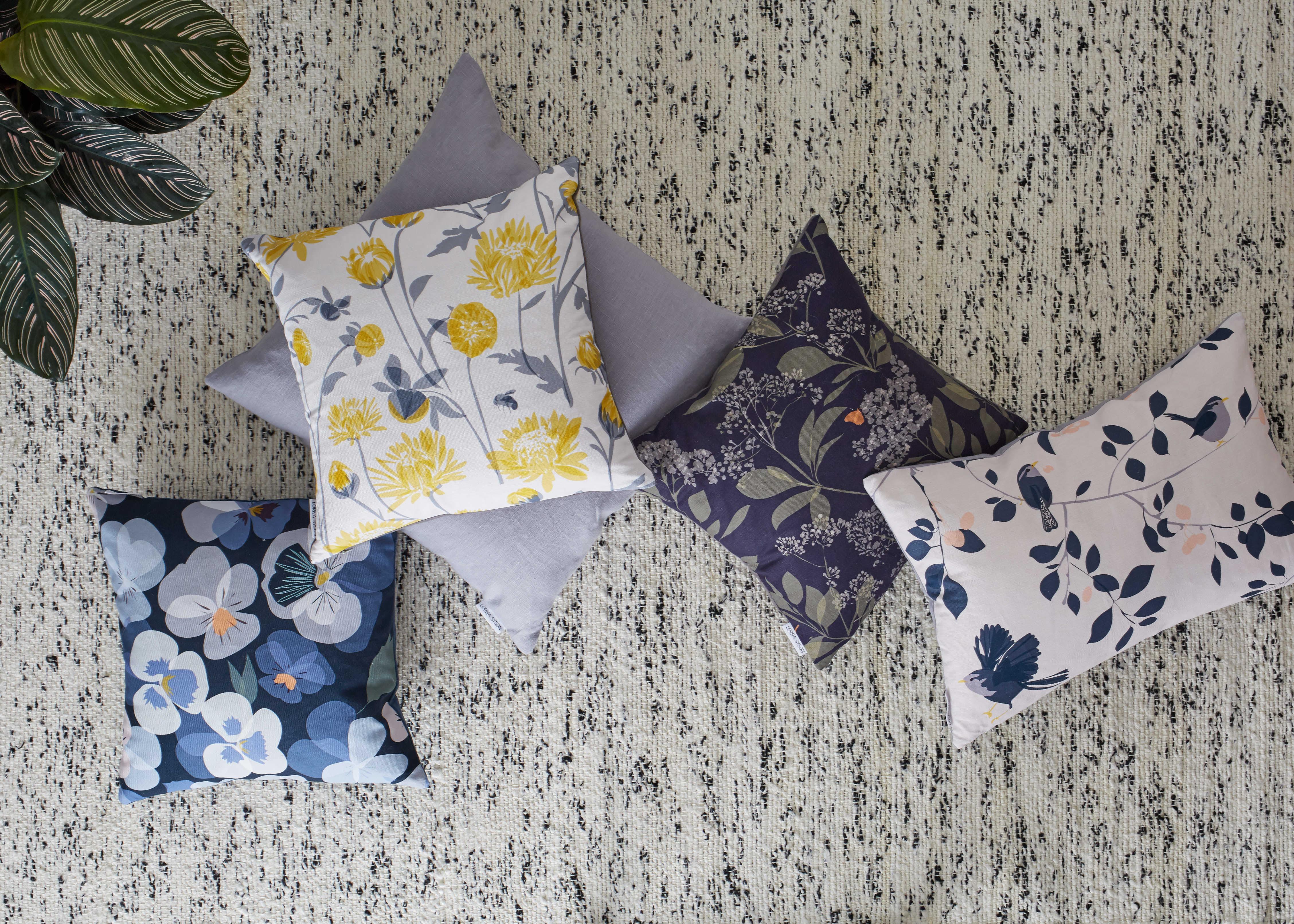 Lorna Syson cushions