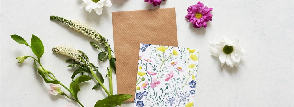 Meadow - British Flora - Spring - Greetings Cards - Lorna Syson Stationery