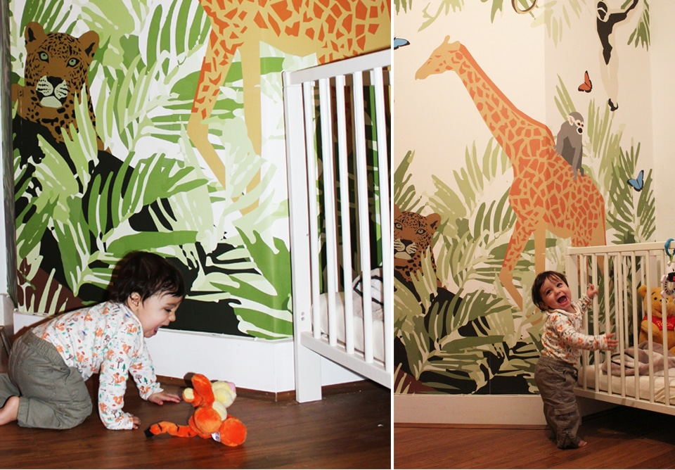Freelance Wallpaper Designer UK Commissions Made to Order jungle wall mural