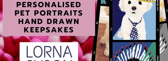 Personalised Cat Dog Pet Valentines Present 2021 Gift Bijon Poodle Labrador Labradoodle Birthday Christmas Card Lorna Syson British Designer