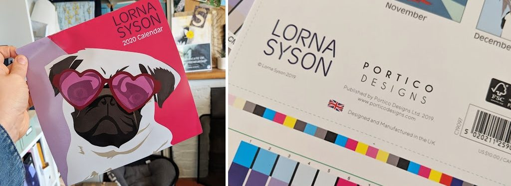 Lorna Syson x Portico - Calendar - Pets - Stationery