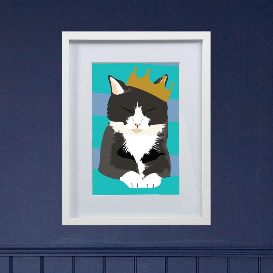 Personalised cat portrait