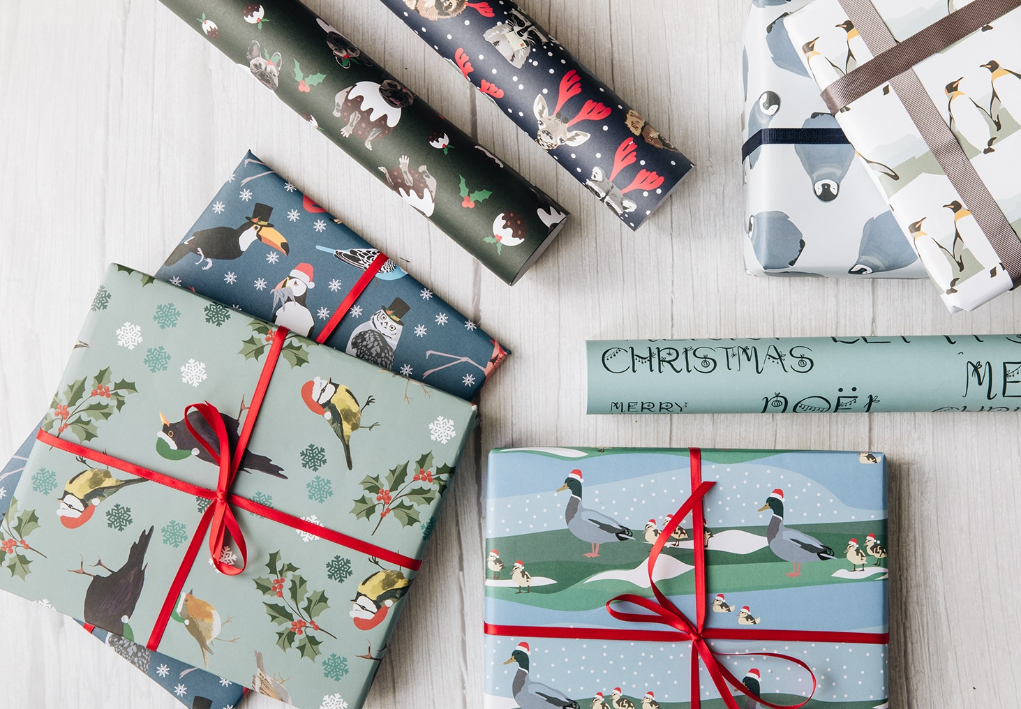 wrapping paper, luxury wrapping paper, gift wrap, plastic free, FSC Paper, enviromentally friendly, sustainable, birthday paper, birthday wrapping paper. gifts, christmas wrap, wrapping paper, christmas, merry christmas duck christmas