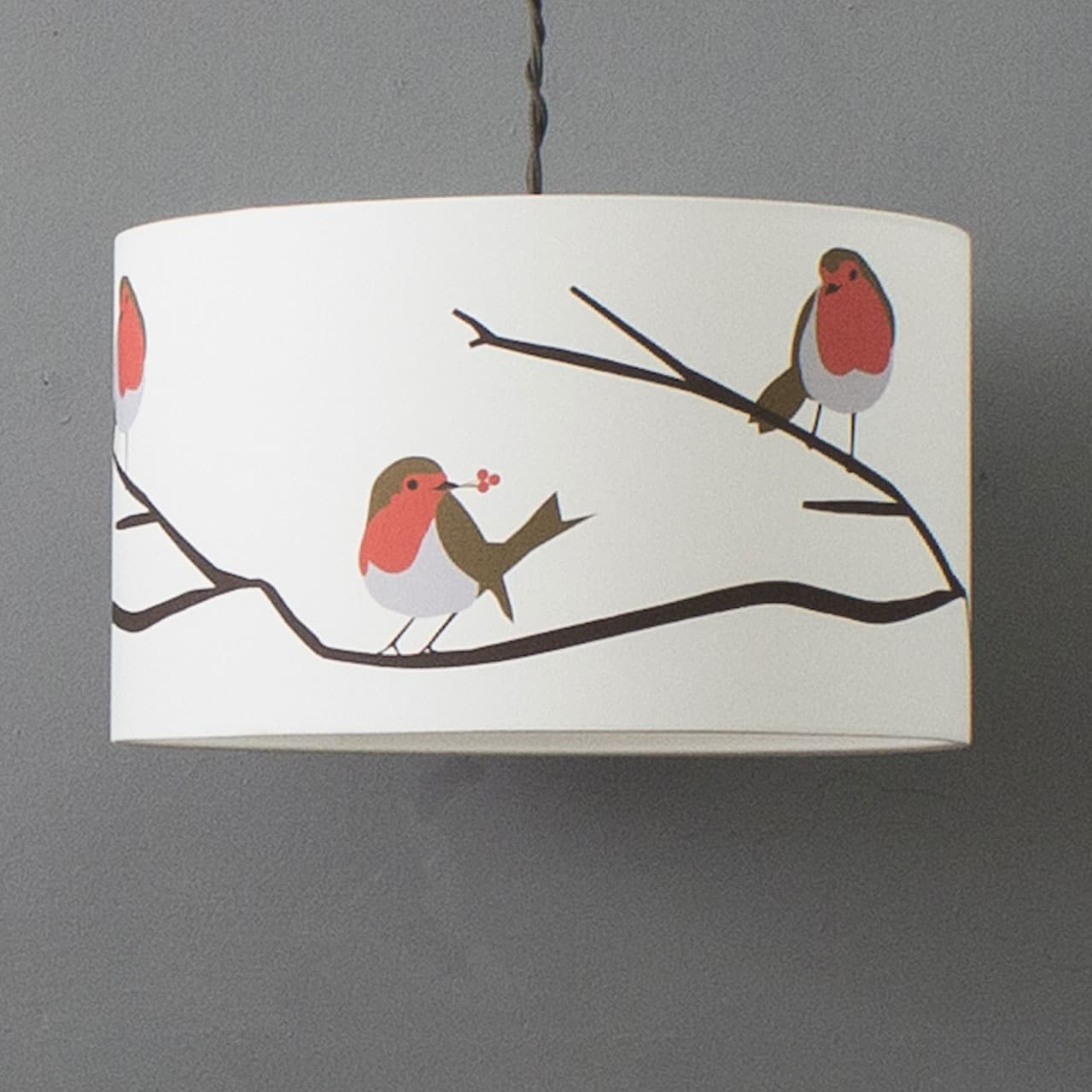 robin lampshade designed by Lorna Syson