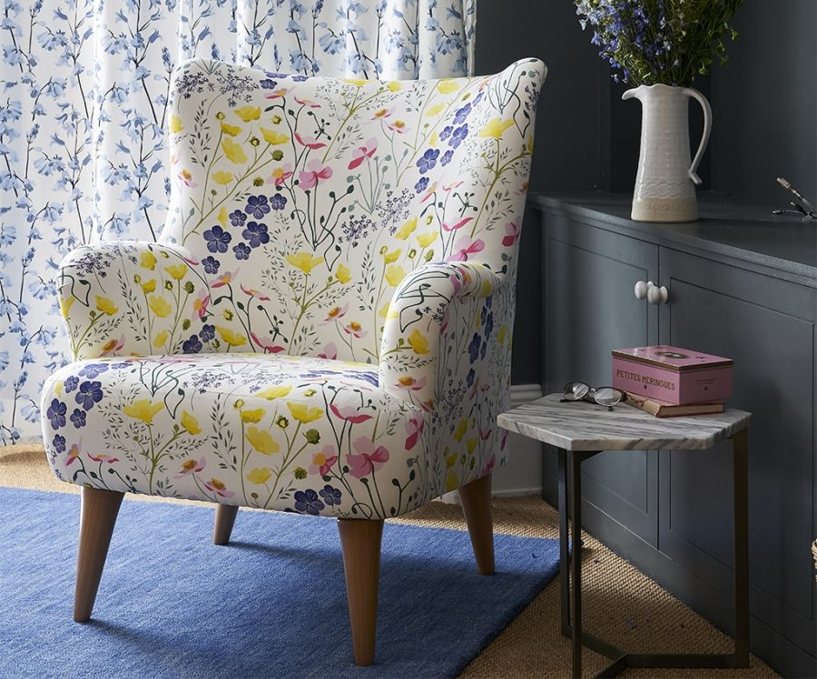 meadow chair made in the UK designed by Lorna Syson