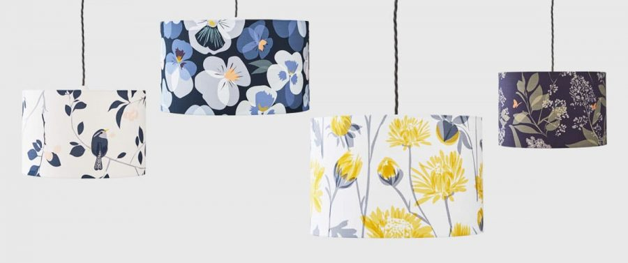 Lorna Syson Garden Collection Lampshades