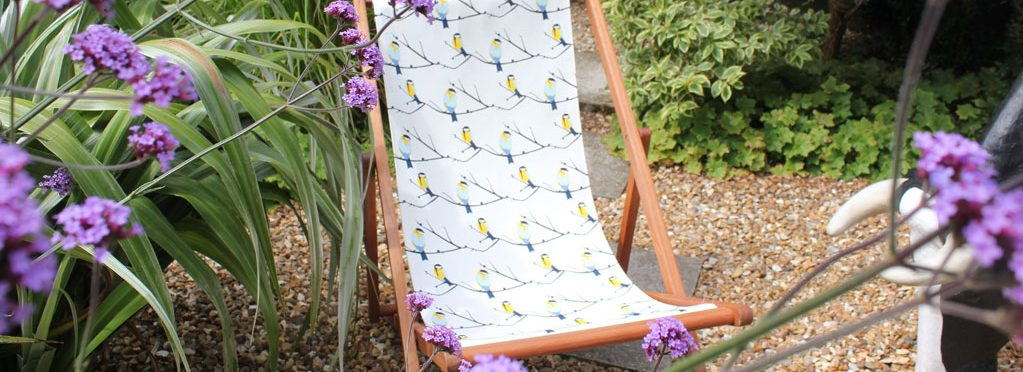 Lorna Syson Deck Chair at Myrtle House