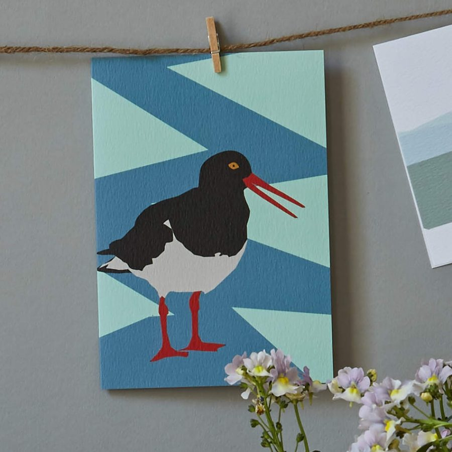 lorna syson oyster catcher card