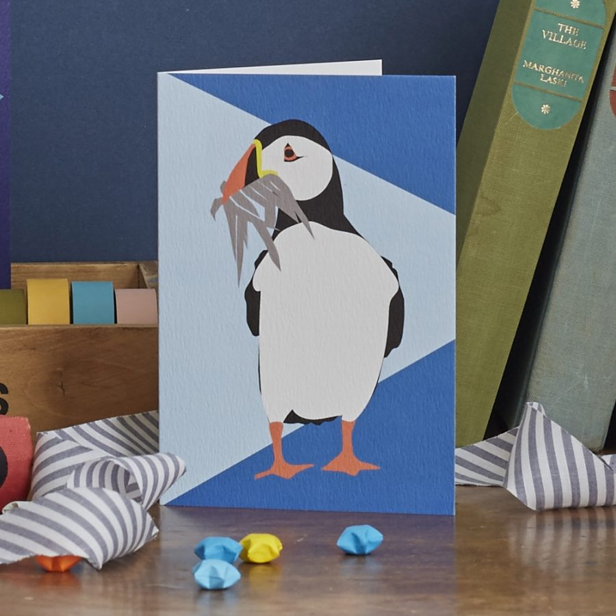 percy the puffin by lorna syson