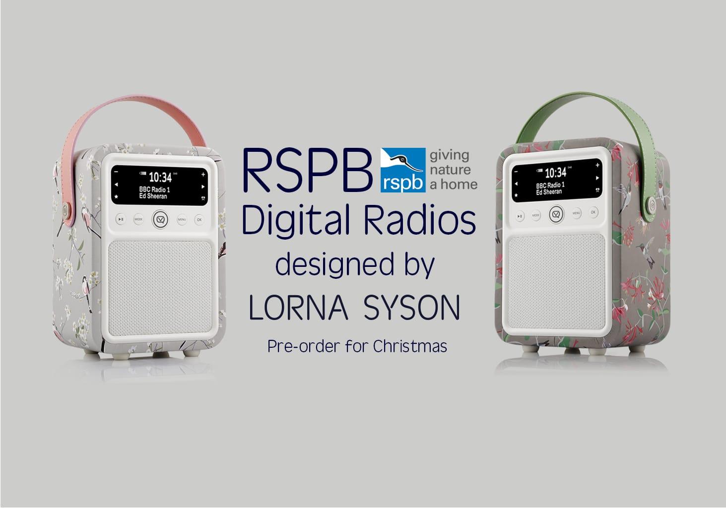 RSPB digital radios