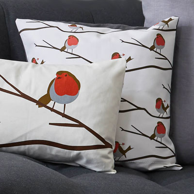 robbin cushion - robin res breast - Lorna Syson