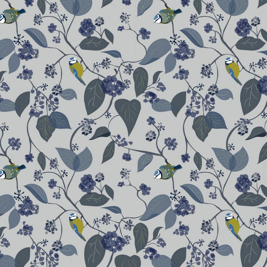 Bird Wrapping Paper - Illustration - Lorna Syson