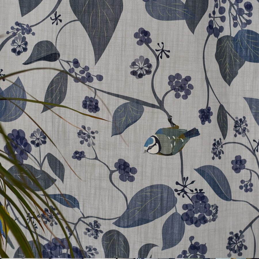 spring ivy fabric by lorna syson